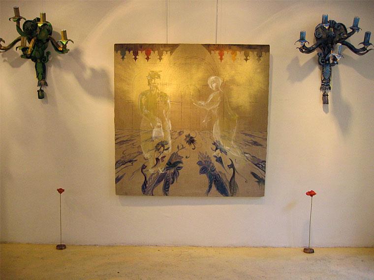 Exposition pour A3Art | 2006 | avec Sophie Elbaz  | Place Saint Sulpice, Paris 6