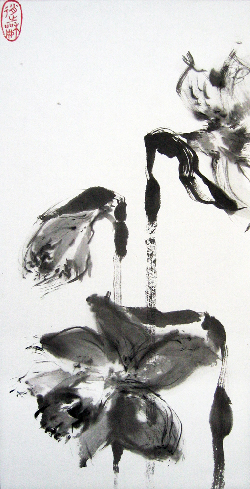 Jonquilles, 2010 | Encre sur papier
