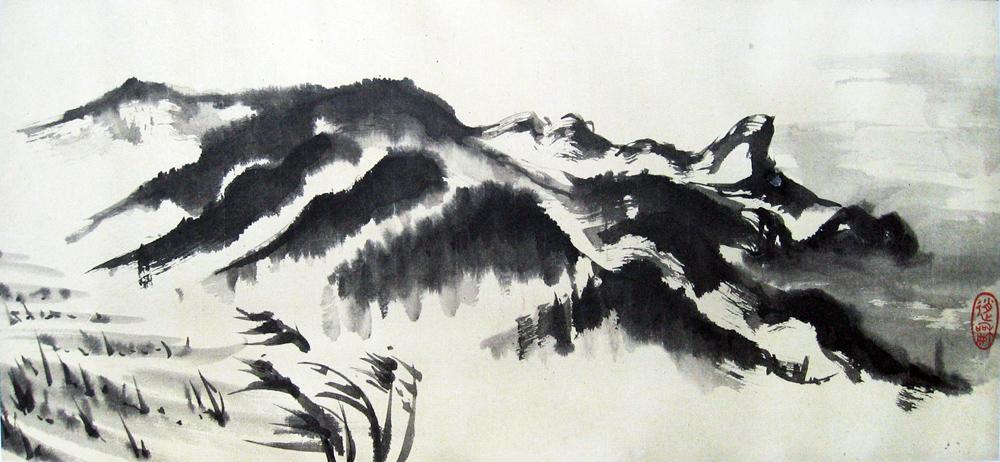 Korea, Naribunji, 2010 | Encre sur papier