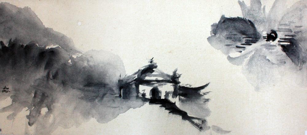 Emeishan, 2008 | Encre sur papier - Collection particulière
