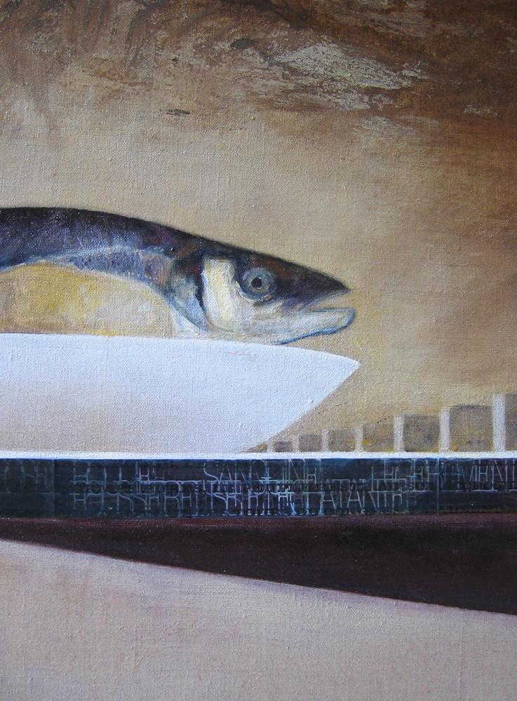 Brasilia et le poisson (détail),