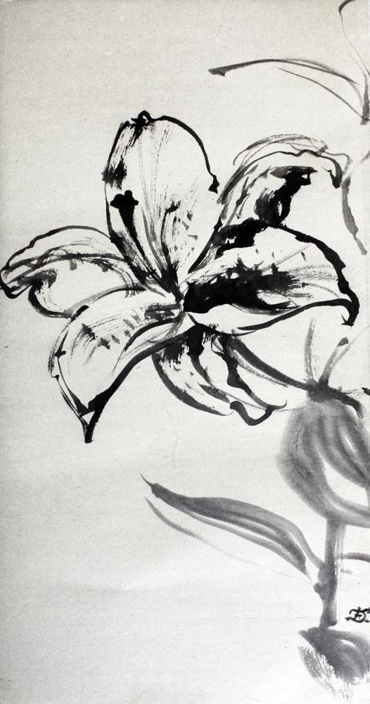 Lys, 2008 | Encre sur papier