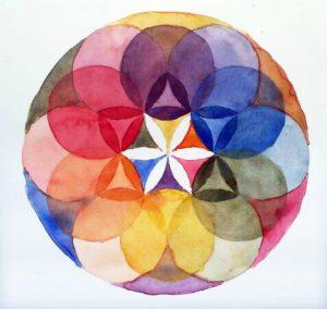 Example de Mandala fleur de vie