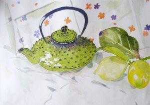 Camilla fait le thé