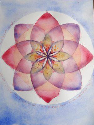 Mandala du lotus