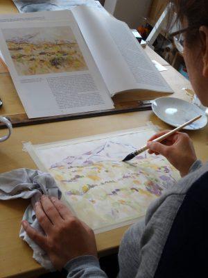 Suzanne peint Cézanne